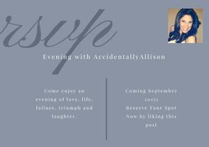 Meet & Greet with AccidentallyAllison