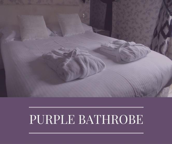 purple-bathrobe